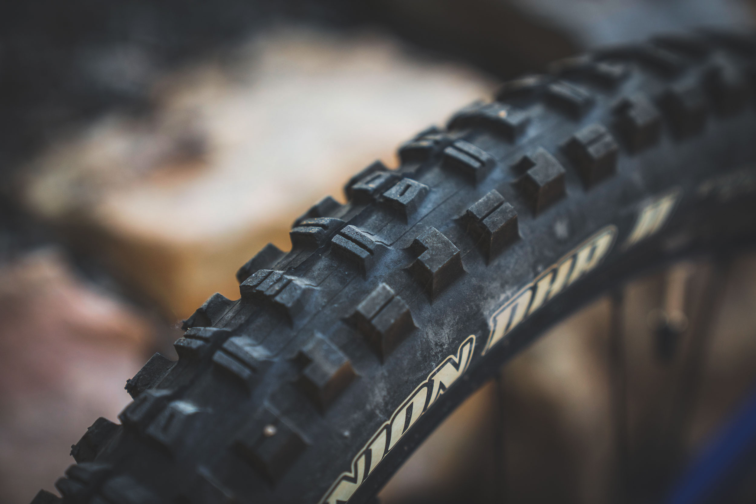 Maxxis Minion DHF and DHR II Close-Up