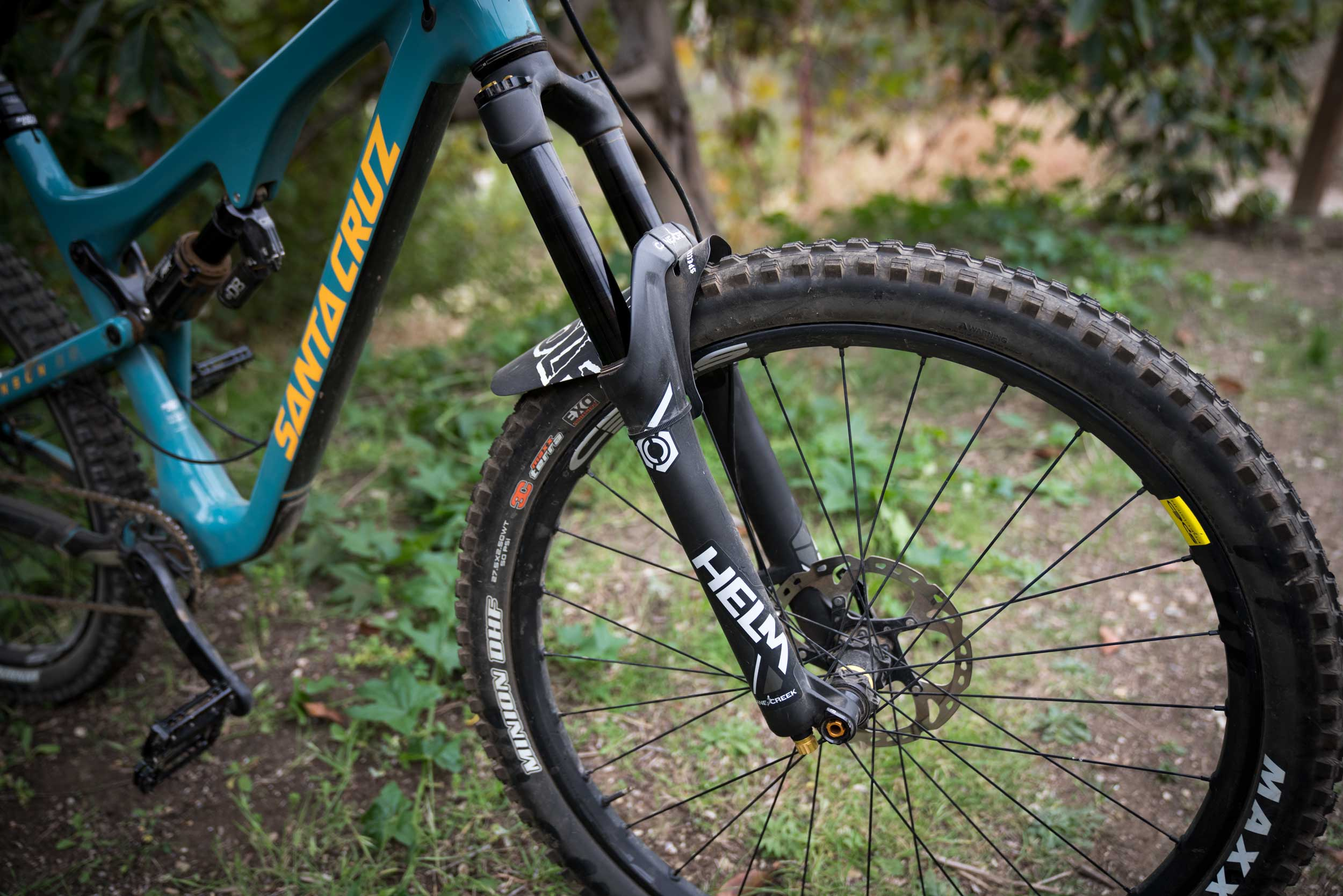 Review: Cane Creek Suspension Upgrade - Helm and DBair CS