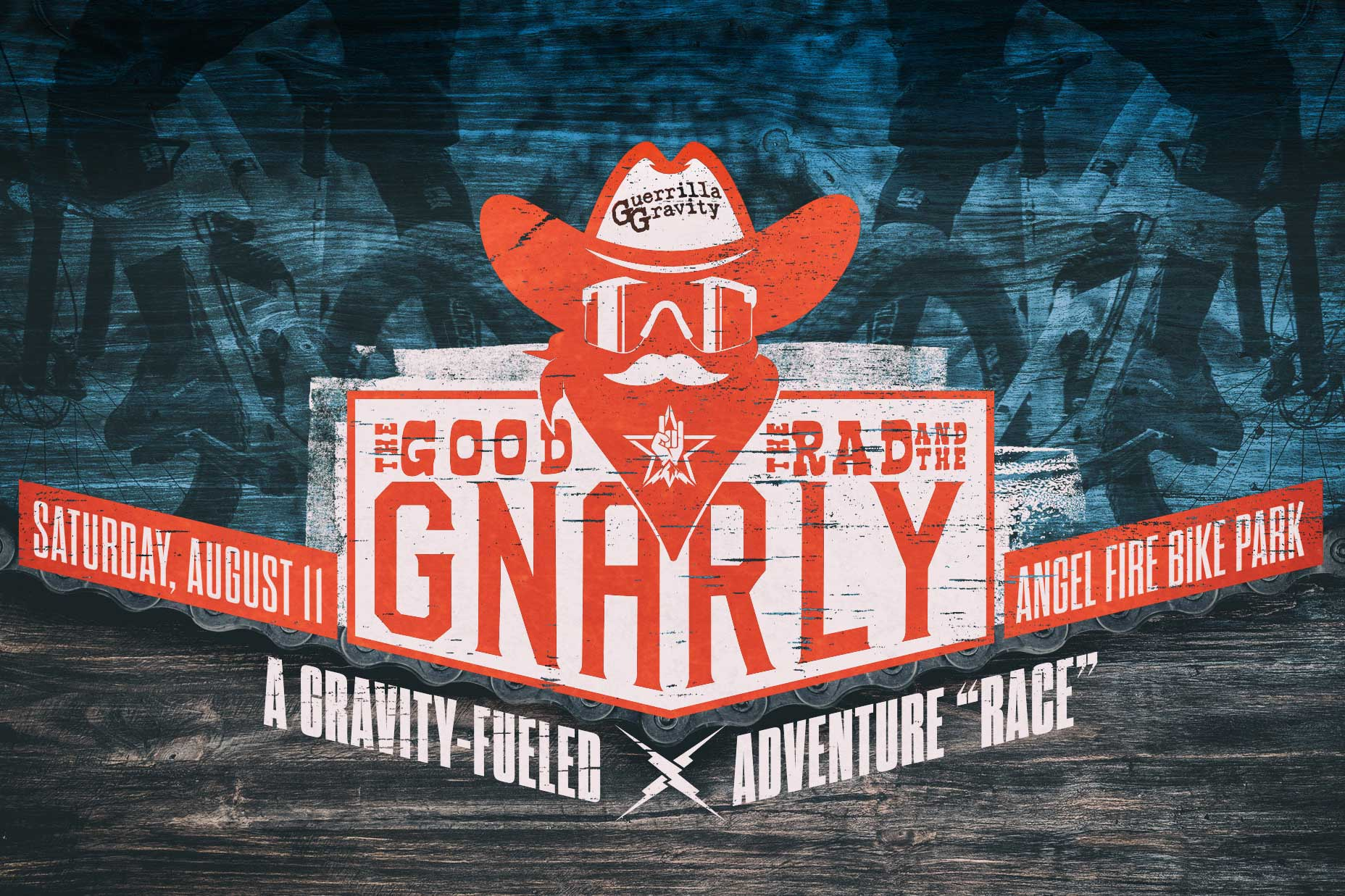 Guerrilla Gravity Giveaway – The Good, the Rad, and the Gnarly