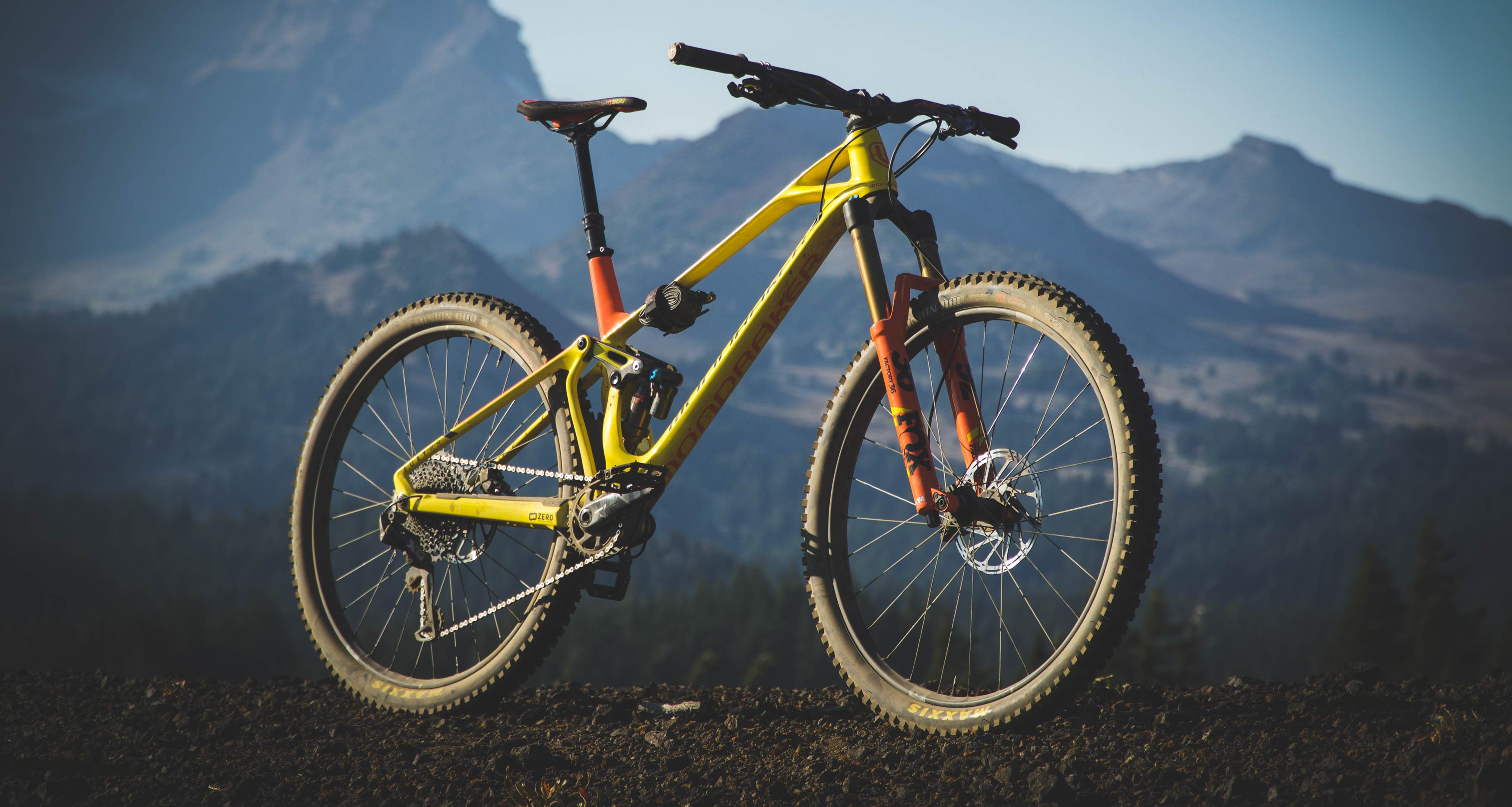 Mondraker's Foxy RR 29 is a very specified high performance bike