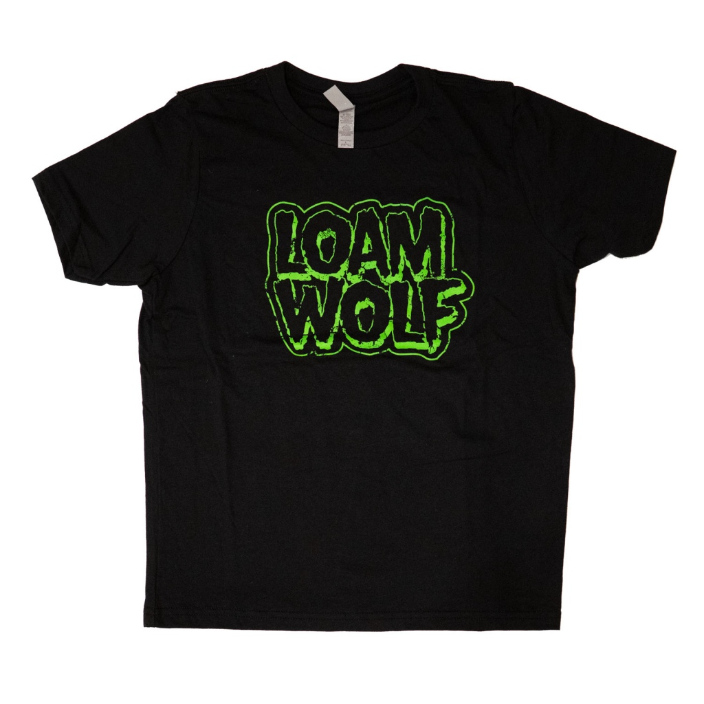 """""""Youth"""" Distressed OG Loam Wolf T-Shirt"""