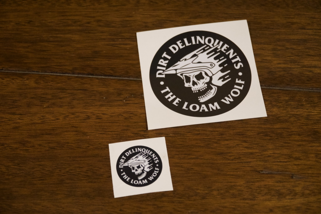 Dirt Delinquent Stickers