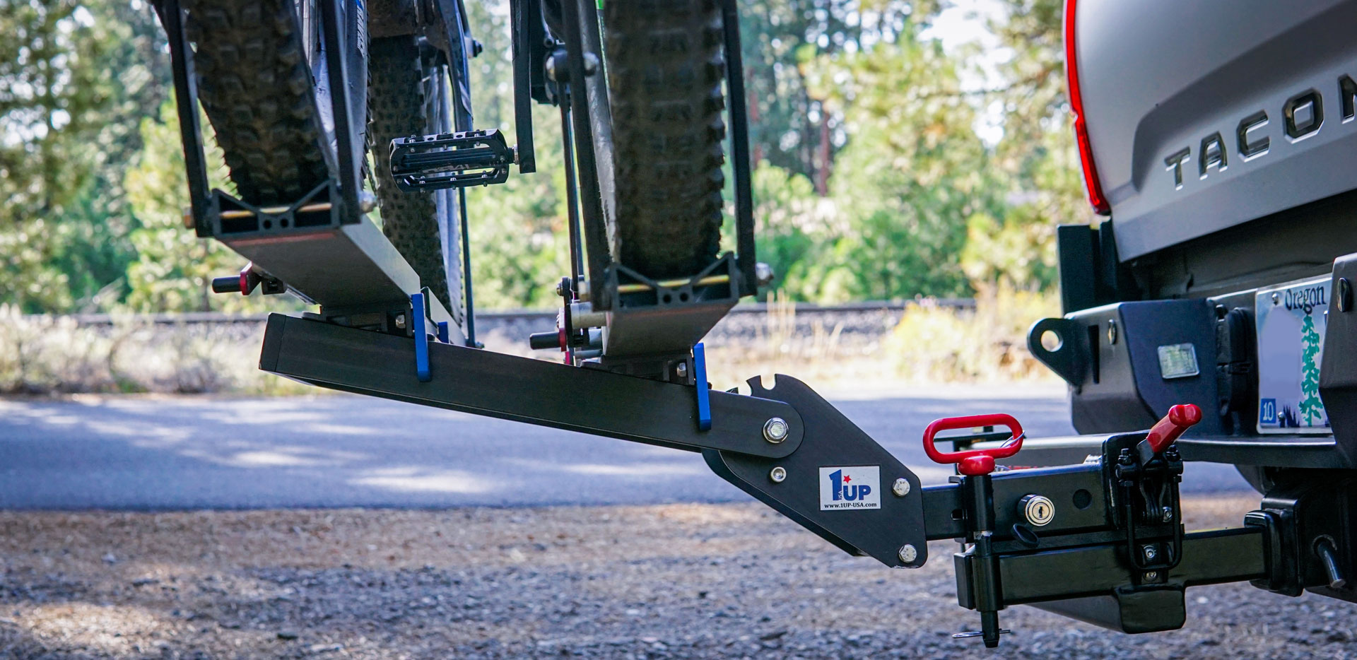 1UP USA Super Duty Double Bike Rack