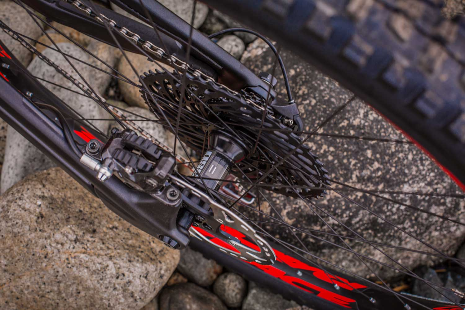 Thunderbolt Carbon spokes rear