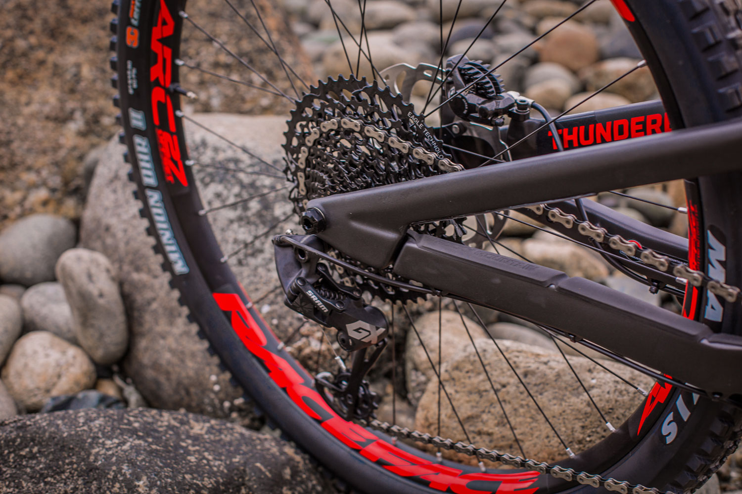 Rocky Mountain Thunderbolt Carbon 90 BC Edition Rear