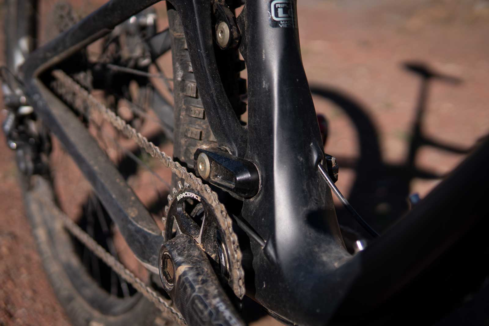 the Ibis Ripley V4 gear and frame