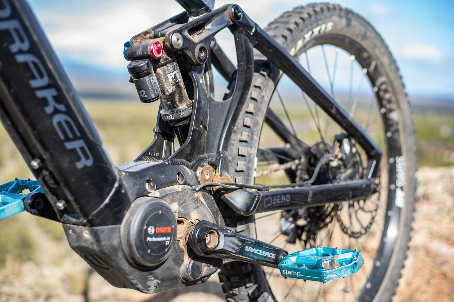 Mondraker Crafty R bosch cx pedal system with dirt