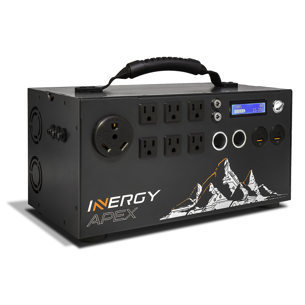 GIFT GUIDE - INERGY APEX PORTABLE SOLAR POWER STATION