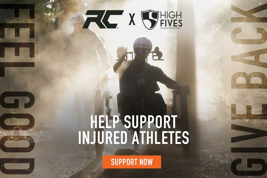 Ride Concepts: Feel Good, Give Back - High Fives Foundation