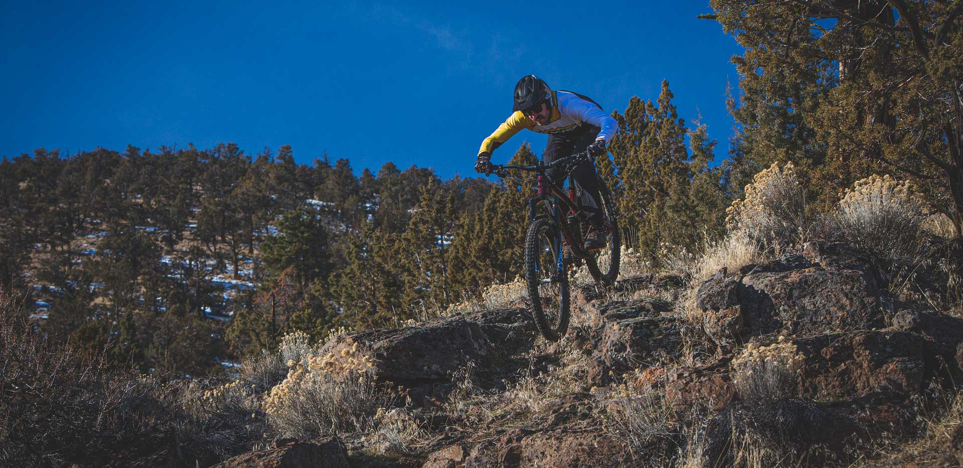 2020 Norco Sight on trail