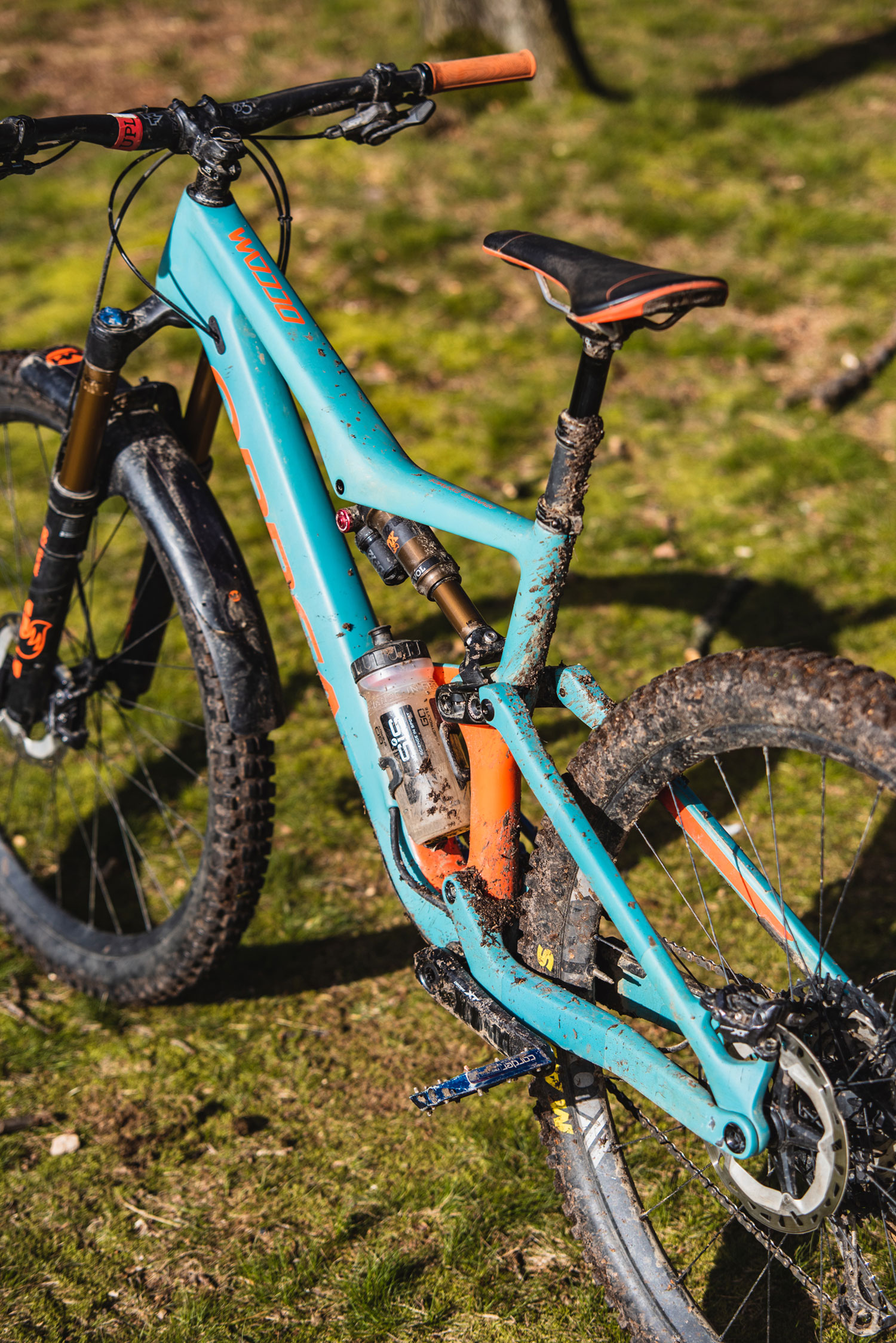 Orbea Occam M10 Review - Rear Side View