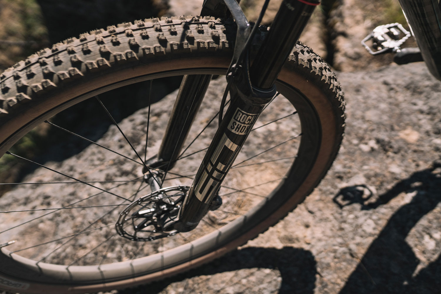 Specialized Epic Evo S-Works front suspension
