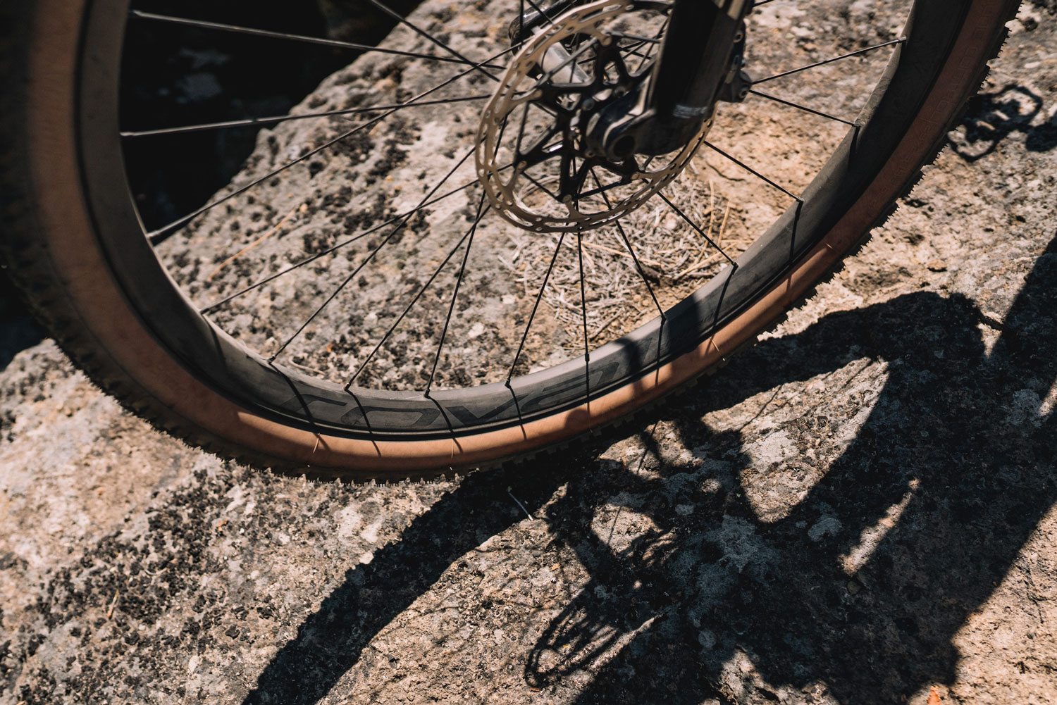 Specialized Epic Evo S-Works spokes and wheel
