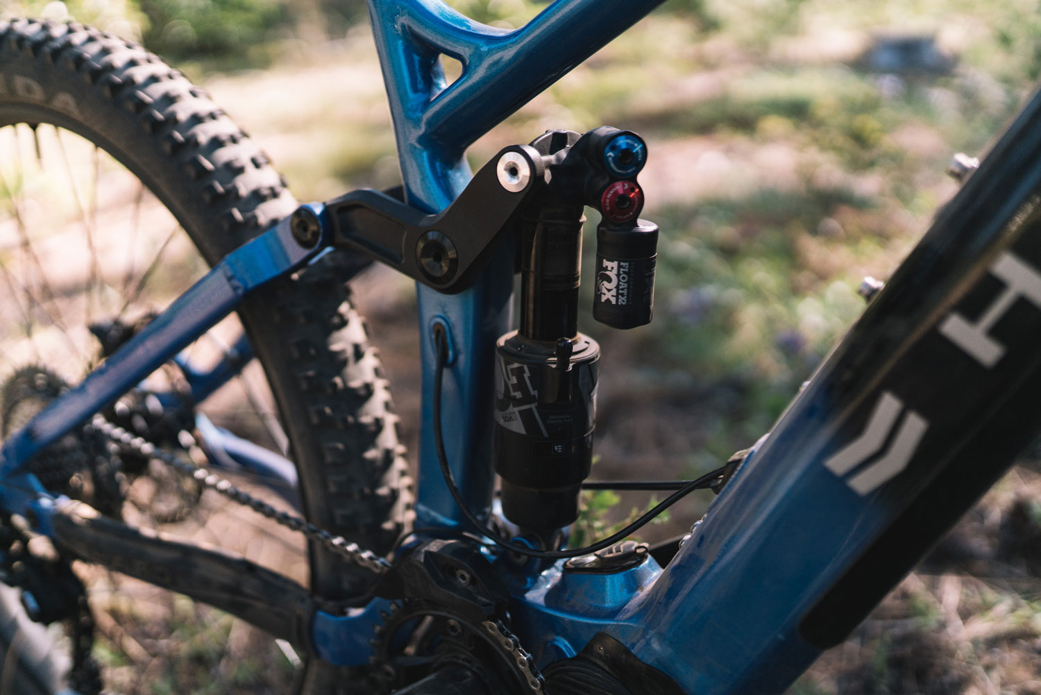 Dissected: Haro Shift Plus i/O 9 rear suspension