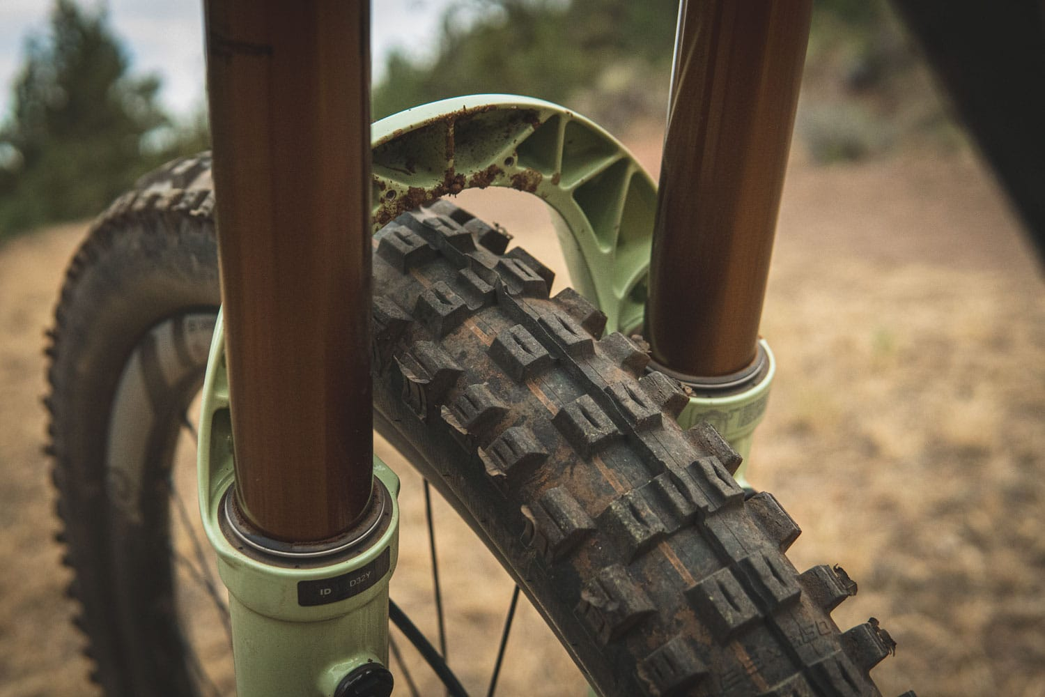 Fox 38 Fork with wheel