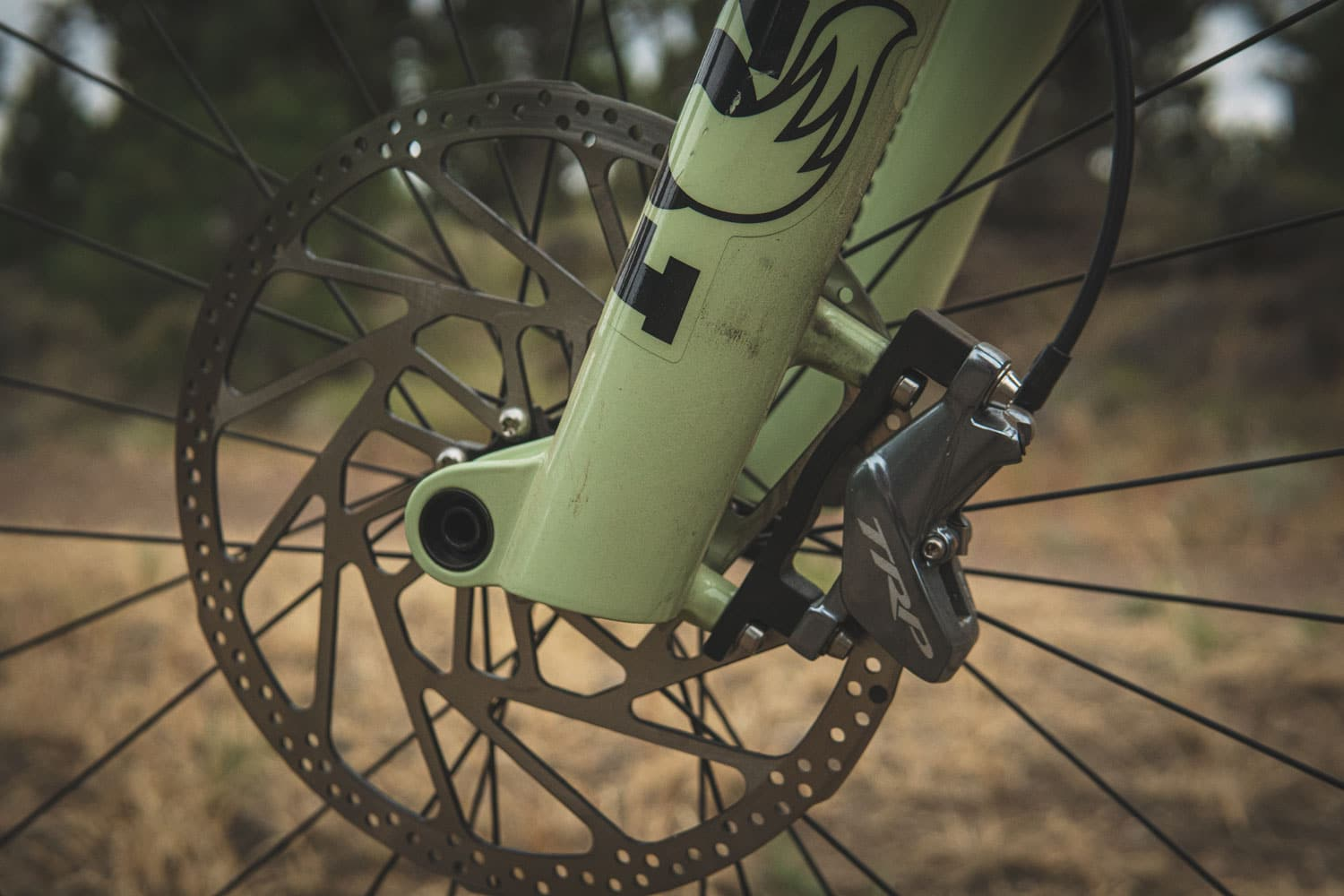 Fox 38 Fork Review close up components