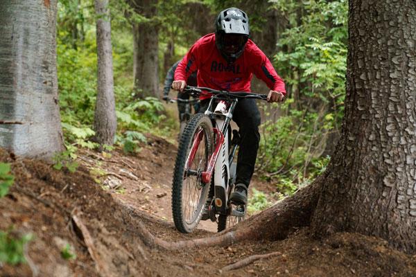 Review: <br>Schweitzer Mountain Bike Park