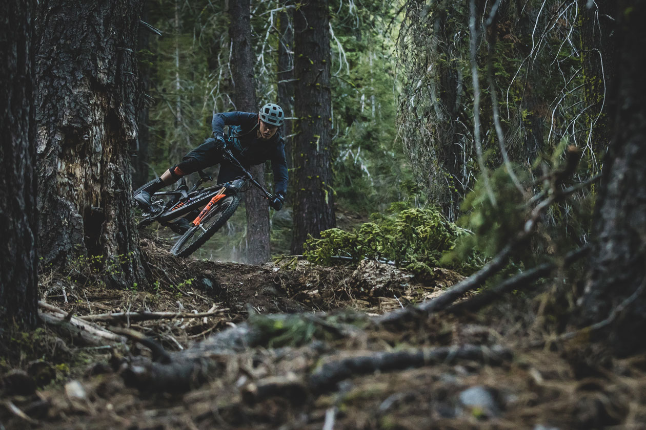 Marco's home turf is riddled with remarkable trails. He puts his new Transition Sentinel 29er race bike to work. Photo by Ryan Cleek
