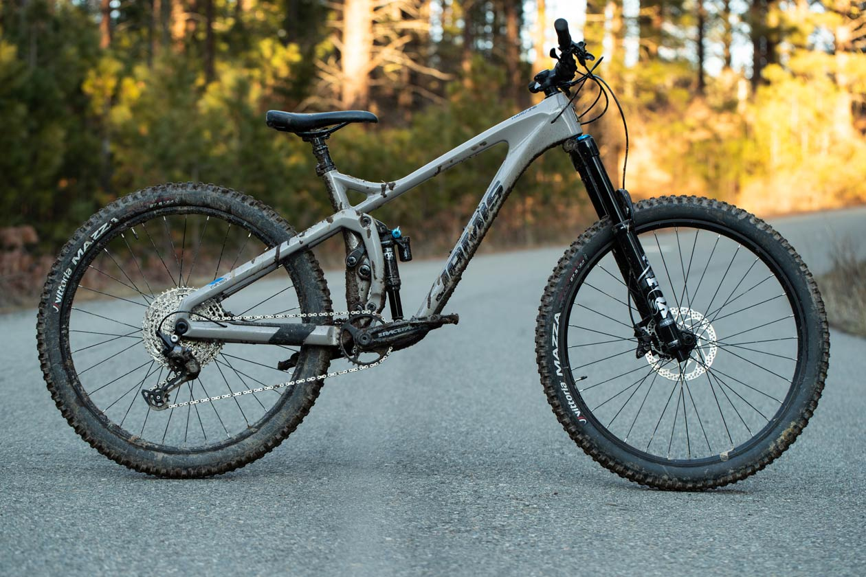 First Ride Report: Jamis Hardline C4 - Beauty Shot