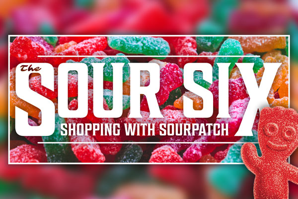 The Sour Six | Shopping with Sourpatch - April