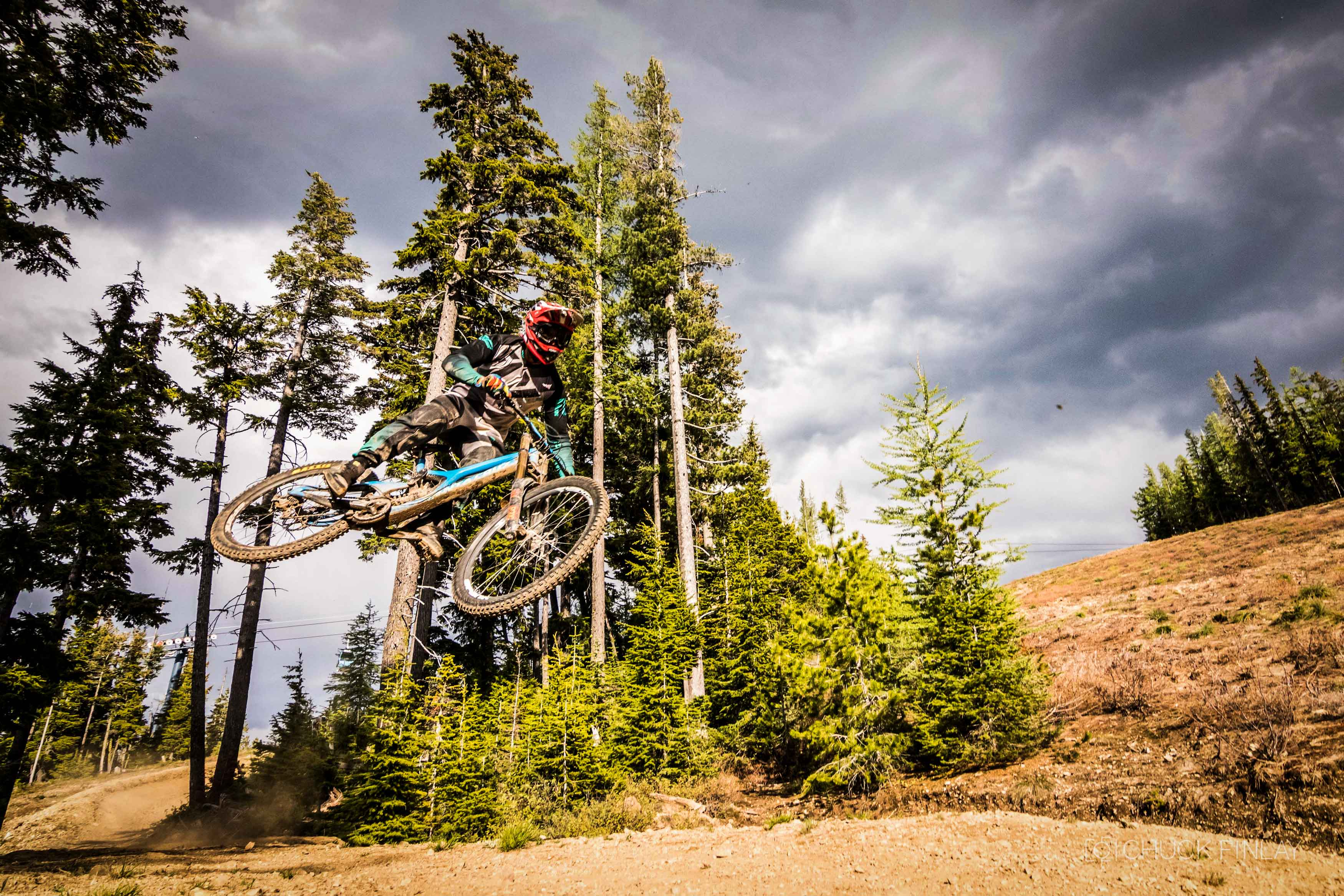 Silver mountain resort opening weekend recap the loam wolf for Silver mountain cabins