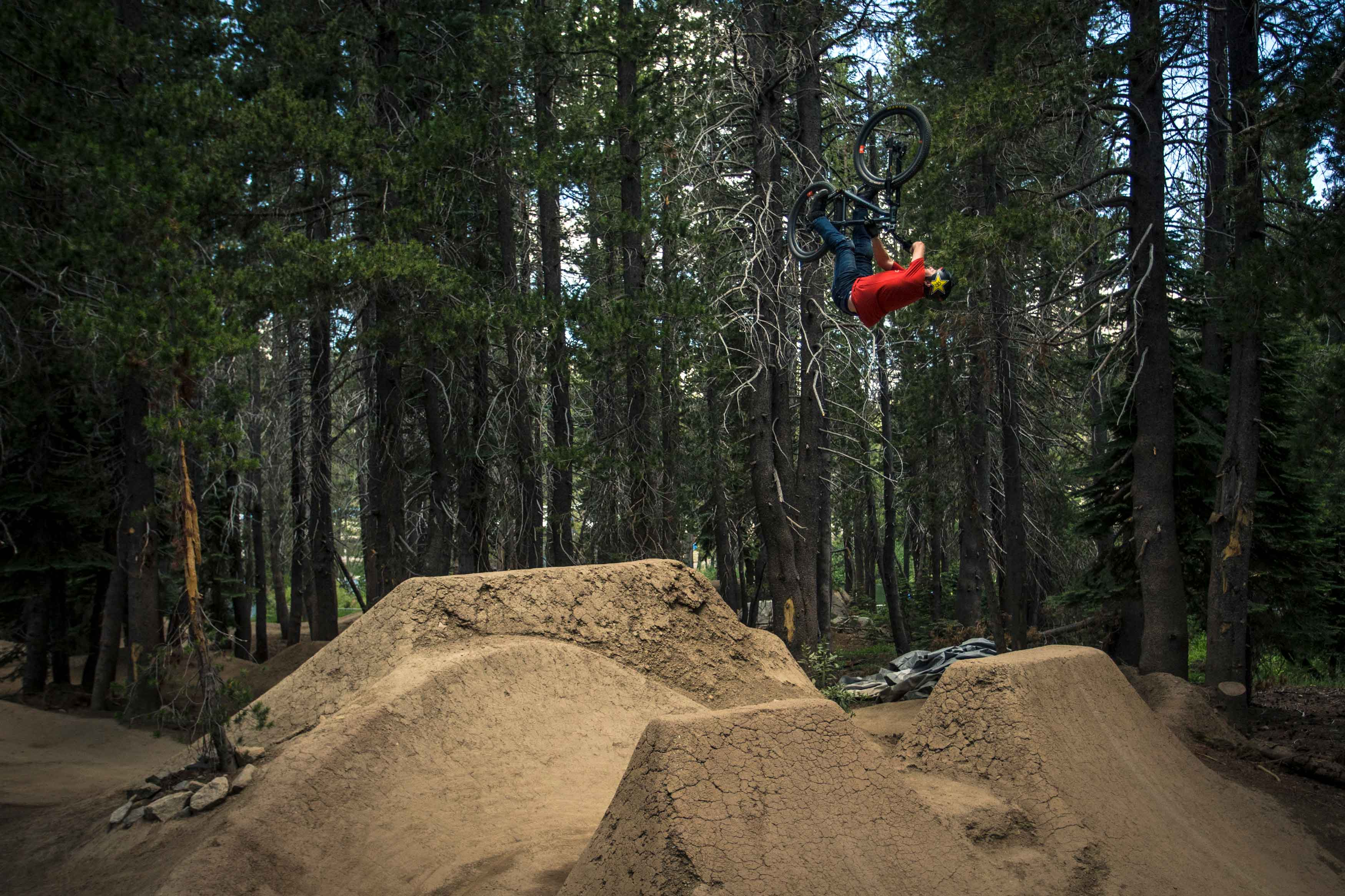 Greg Watts flipping out in Woodward