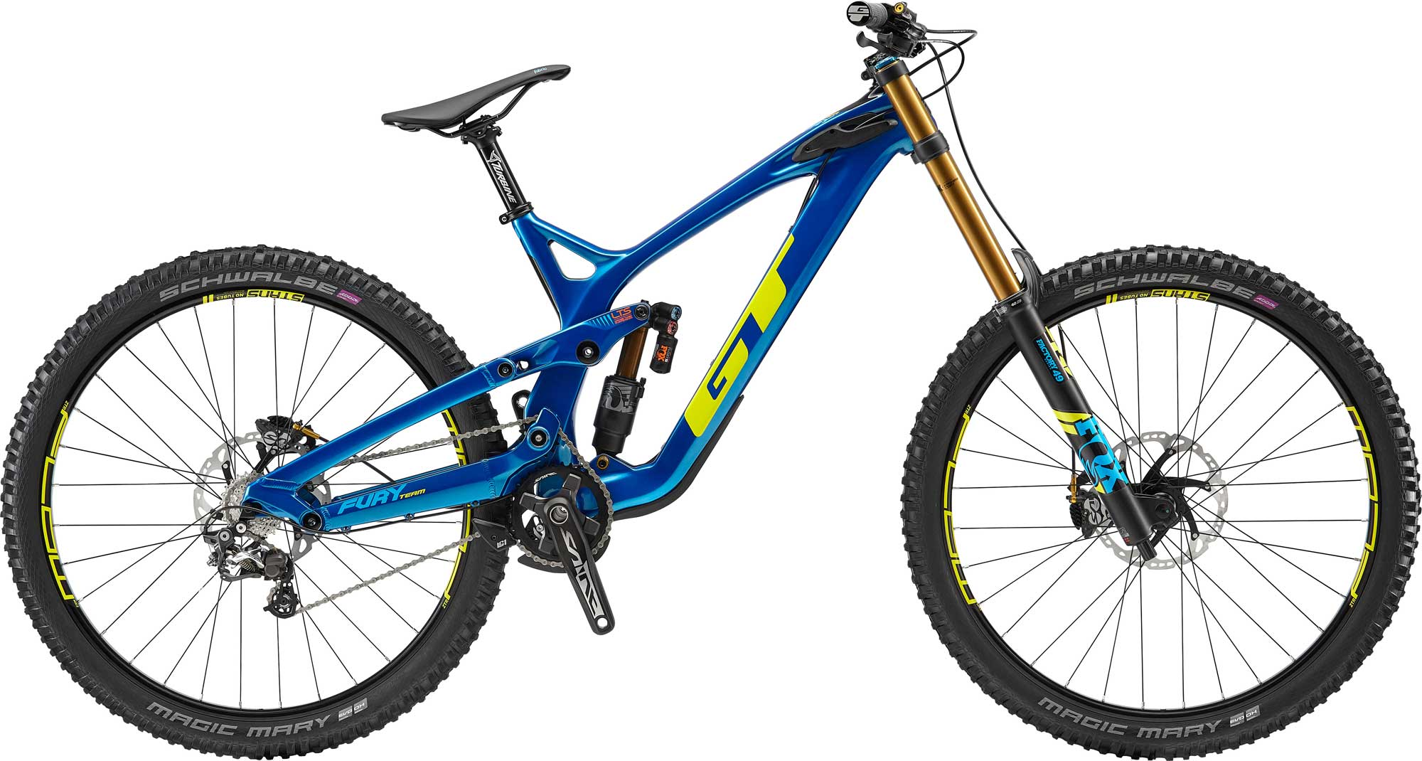 GT Bicycles: Fury Carbon Team 29
