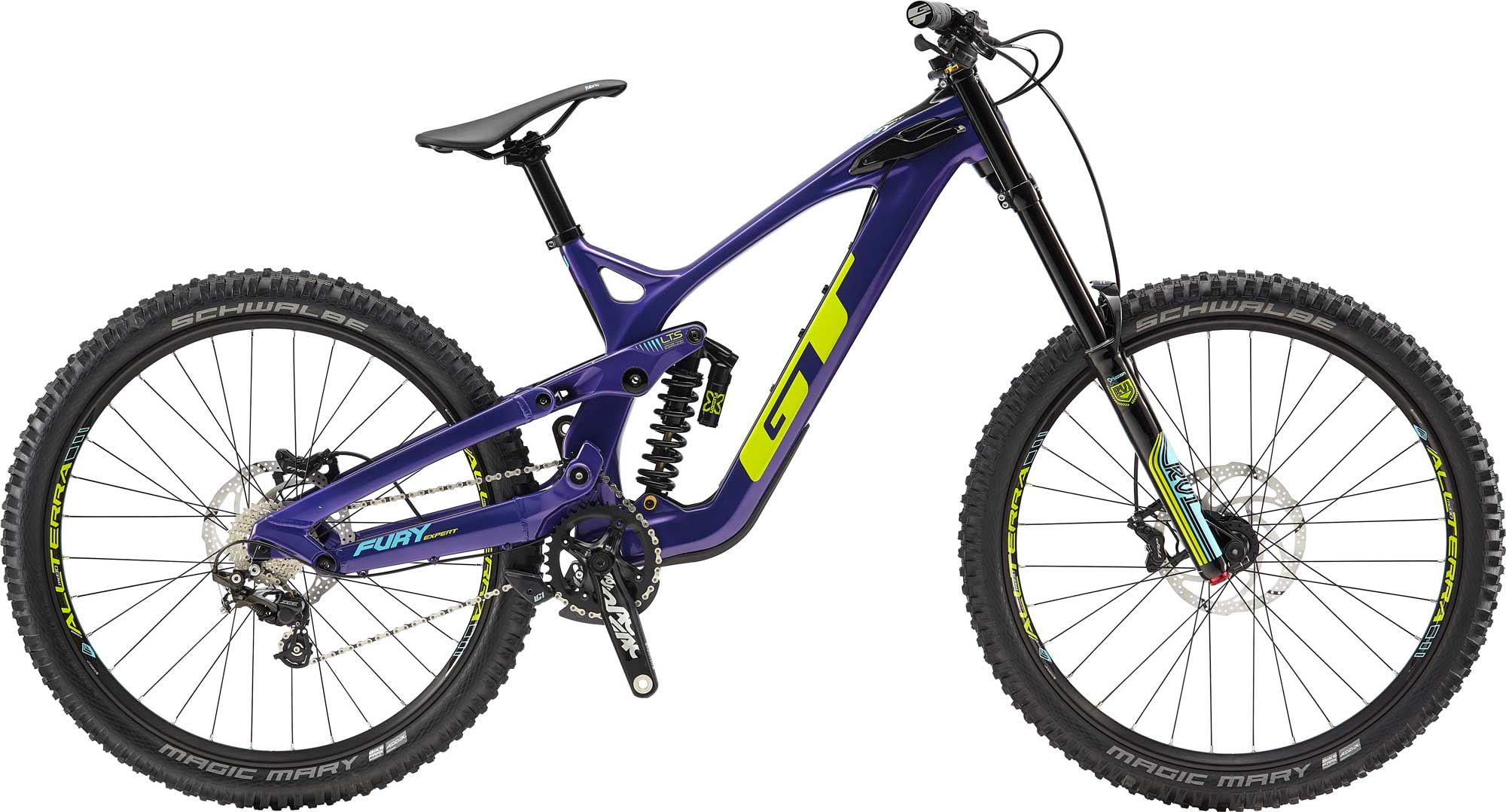 GT Bicycles: Fury Carbon Expert 27.5